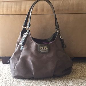 Coach Signature Collection Handbag with Dustbag